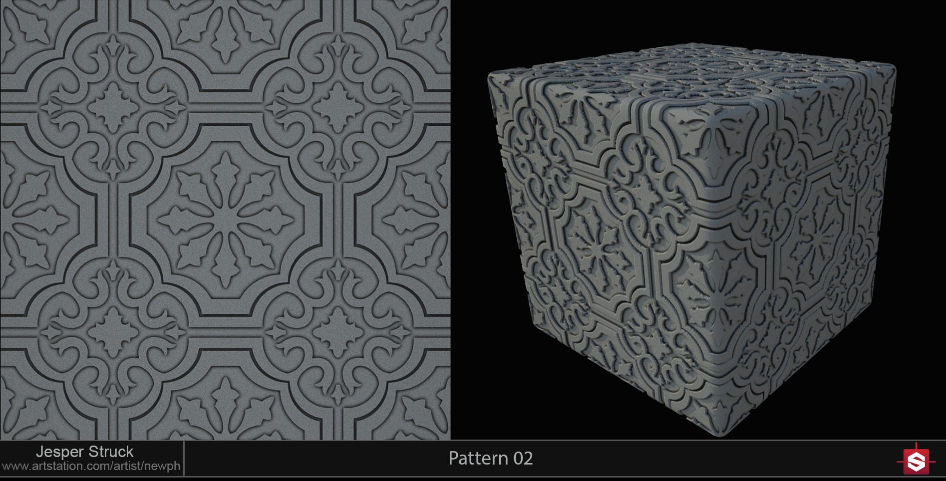 Jesper struck portfolio sd pattern 02