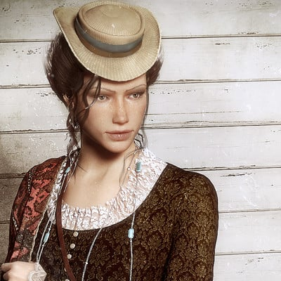Oliver milas the west lady