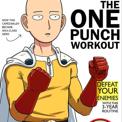Andrew kwan one punch man hero s health magazine by andrewkwan d9ytr76