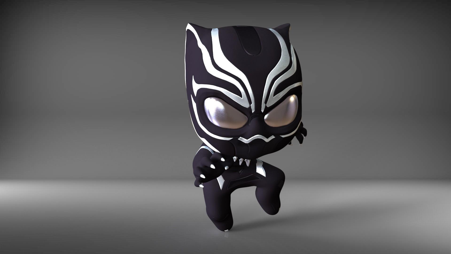 Ron Kam Baby Black Panther