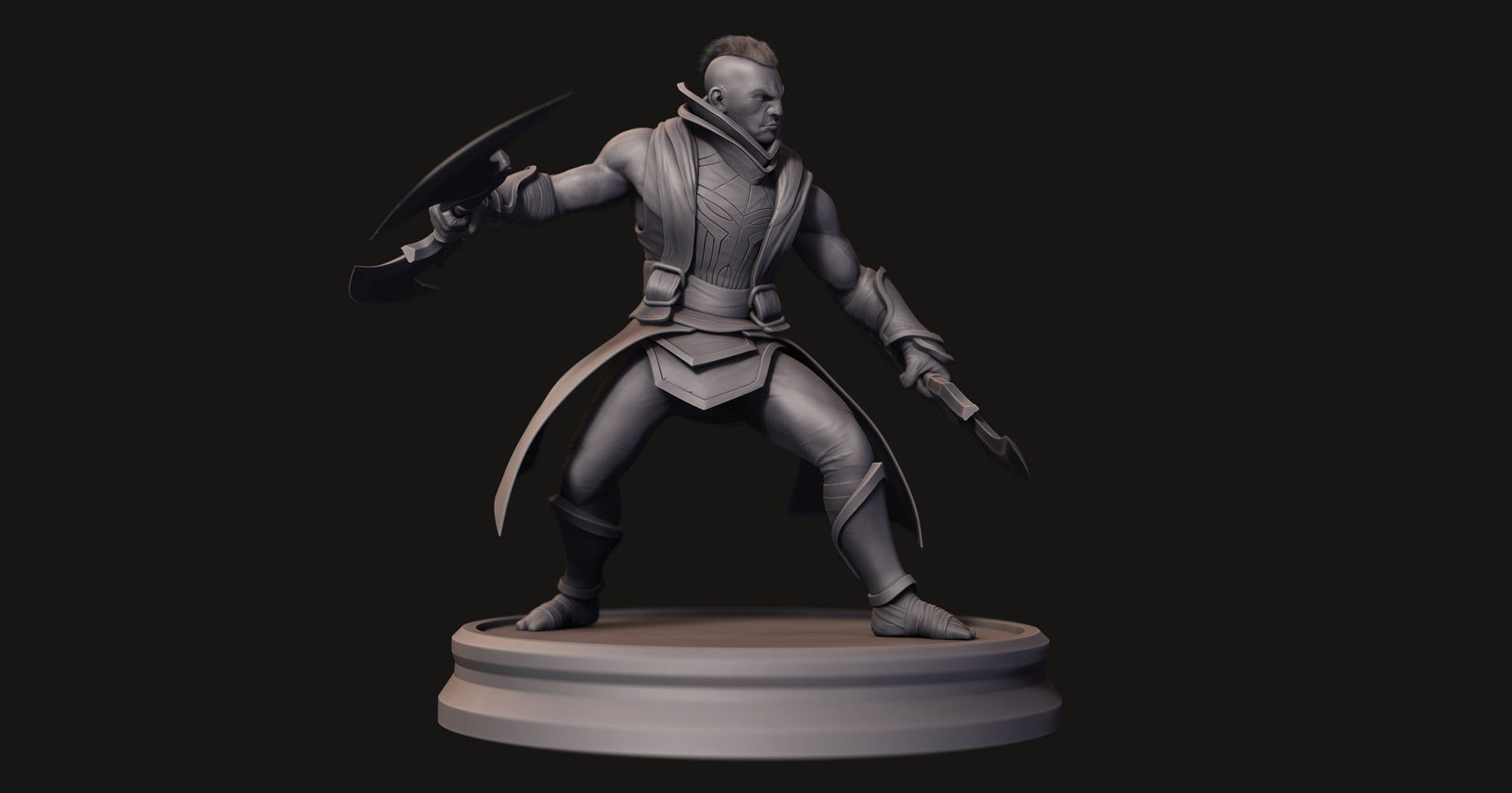 Omar chaouch antimage dota 2 fanart sculpt 02