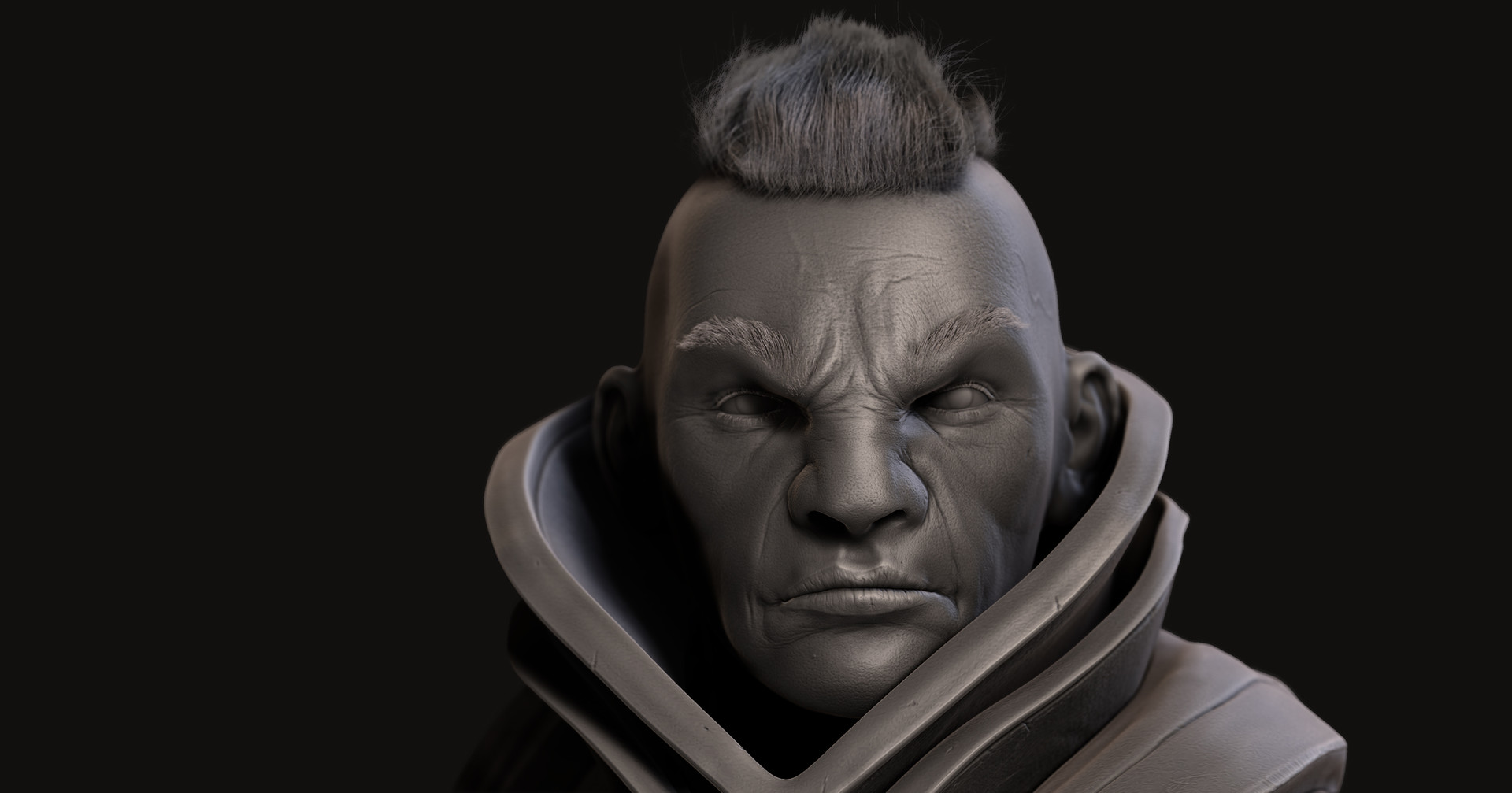 Omar chaouch antimage dota 2 fanart sculpt 06