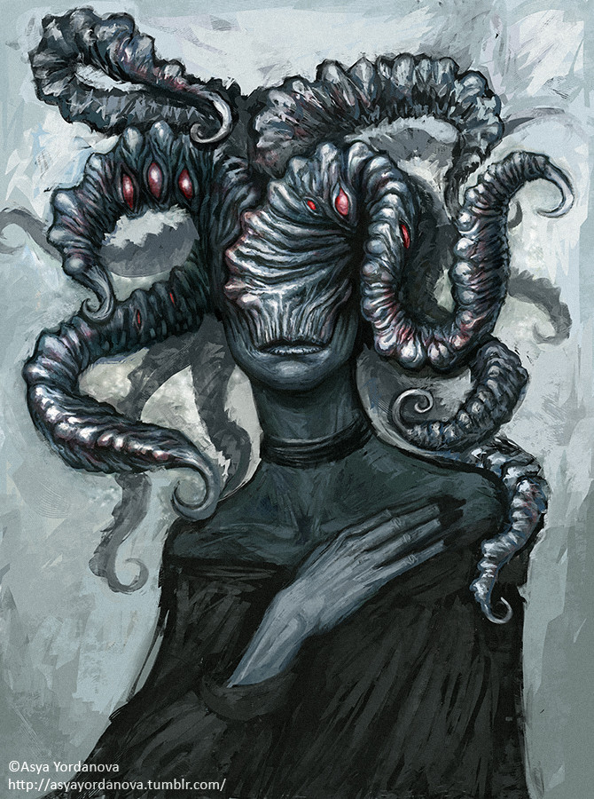 Fantasy Eldritch God Art