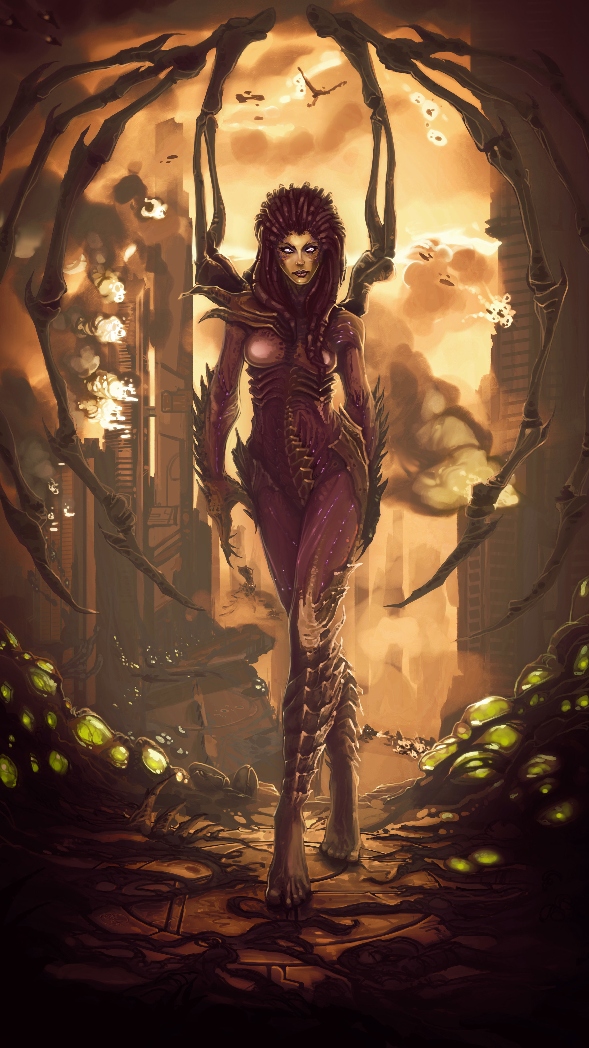 Etienne beschet kerrigan queen of blades