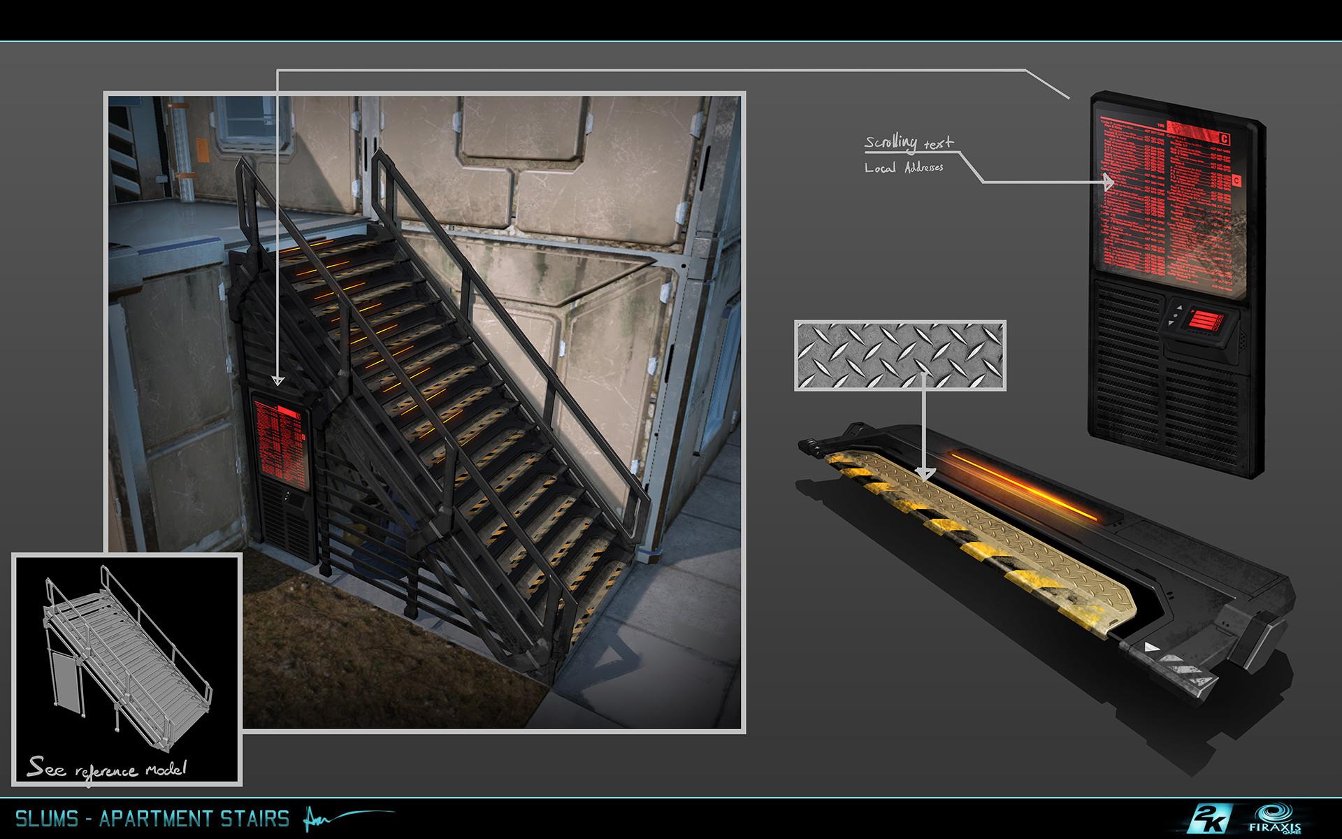 Samuel aaron whitehead slums apartment stairs