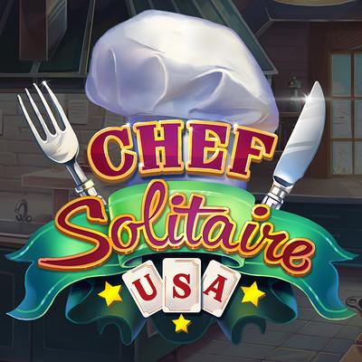 Retrostyle games chefsolitaire logo 01