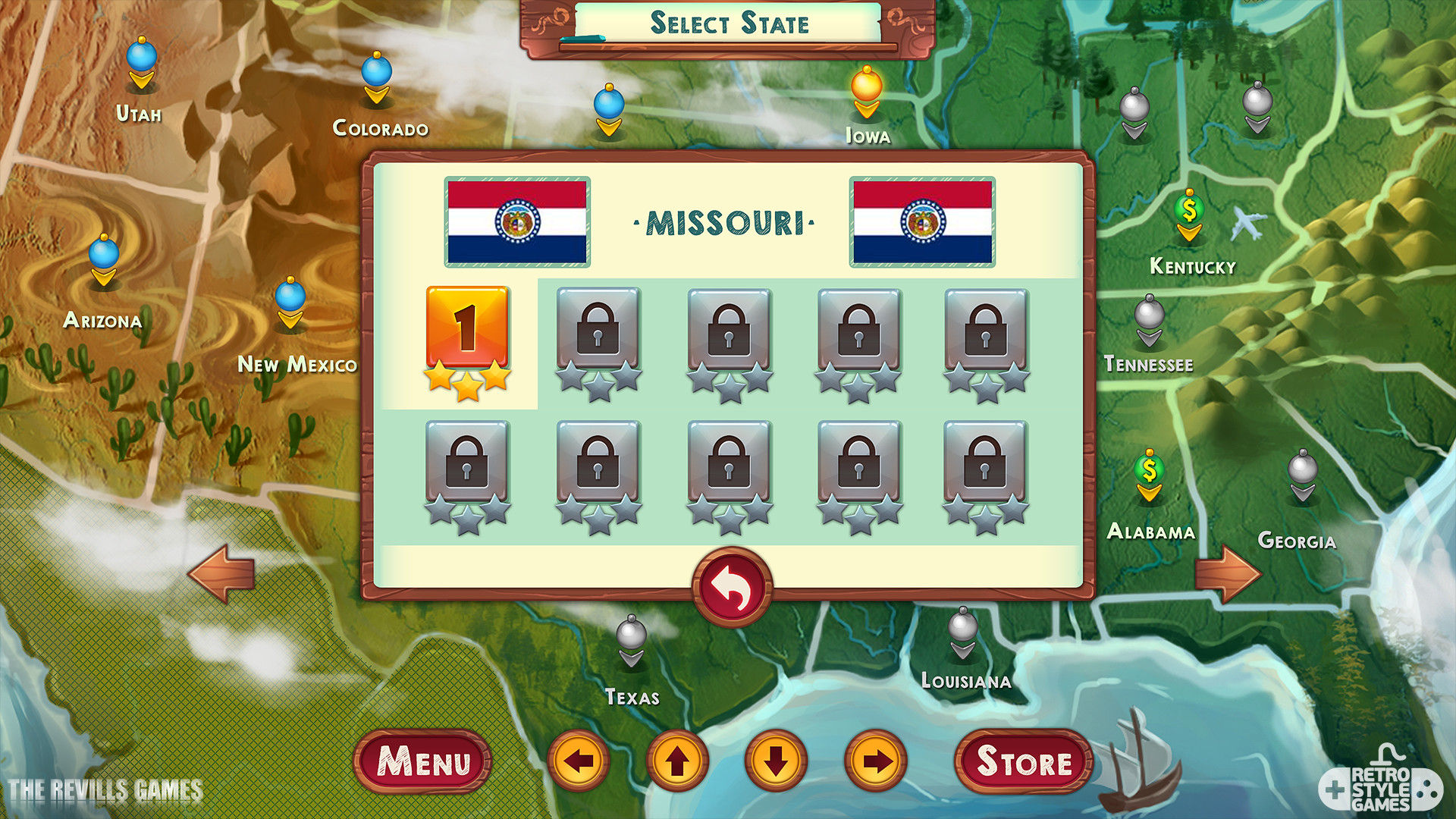 ArtStation Chef Solitaire USA Game GUI Map and Cards – Map Usa Game