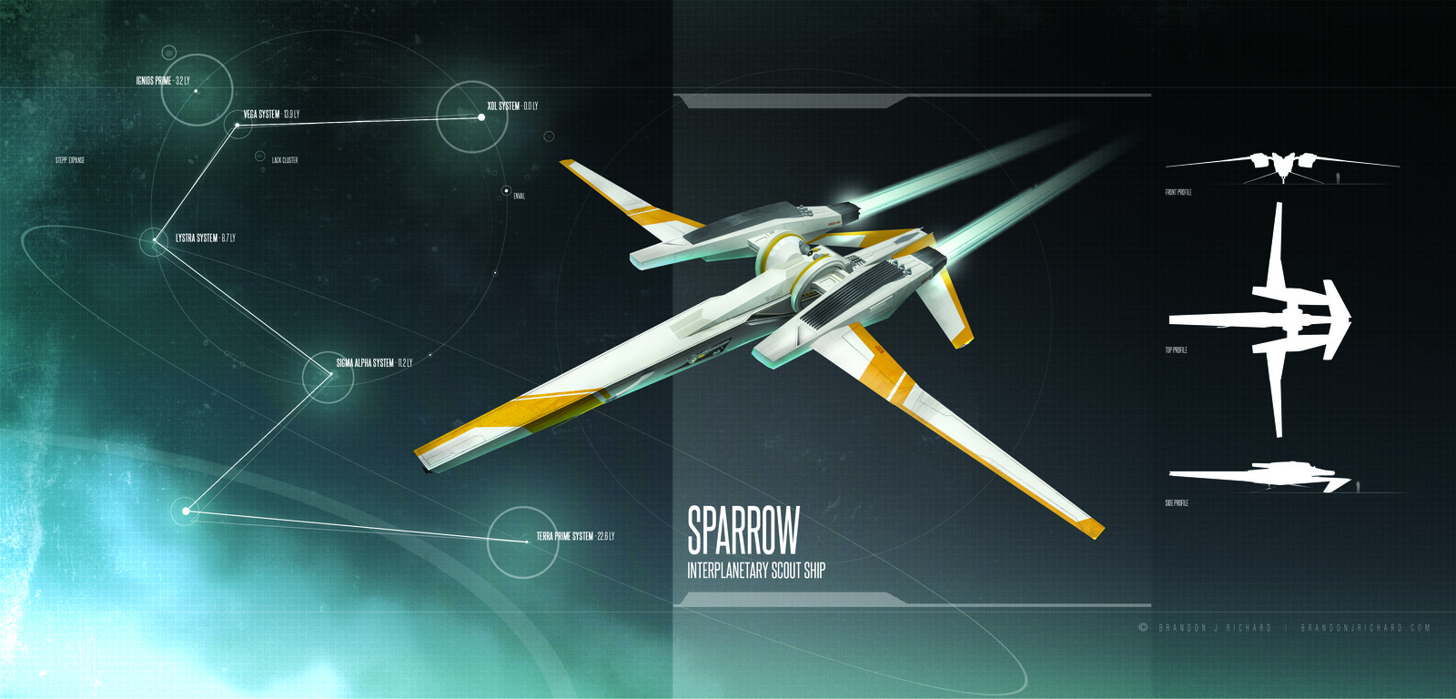 Sparrow Scout Ship
