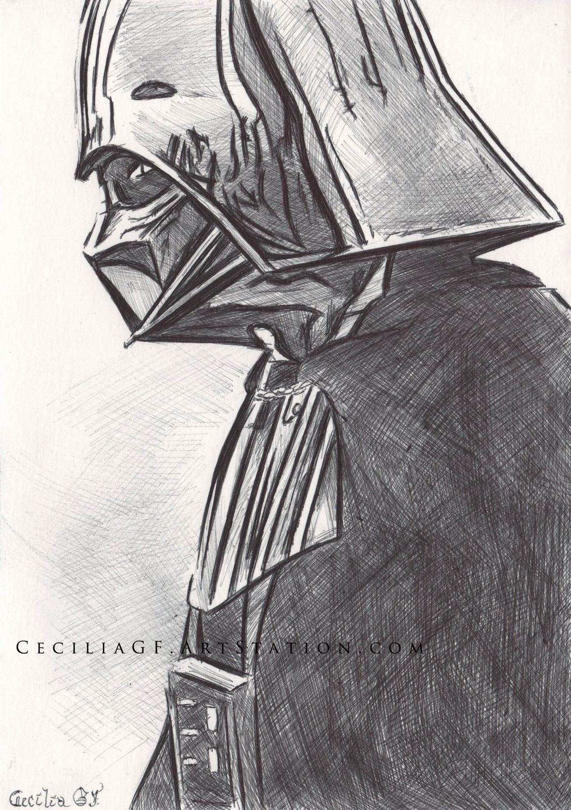 Melancholic Darth Vader