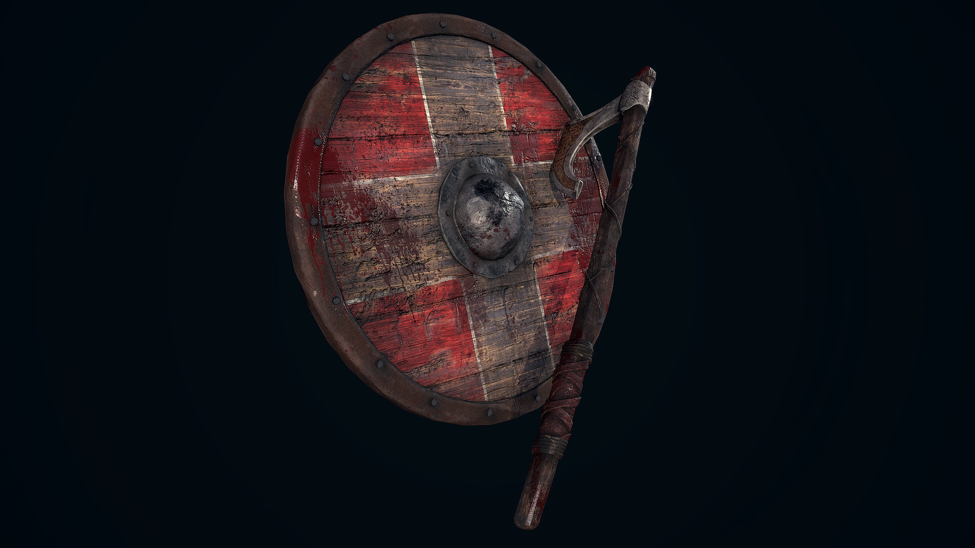 Andrew finch viking shield axe 0004 layer 1