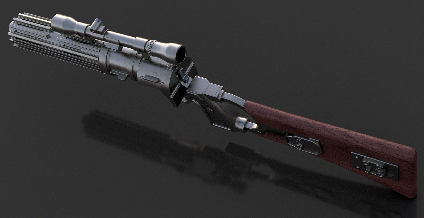 Sergey Kolesnik EE 3 Blaster Rifle