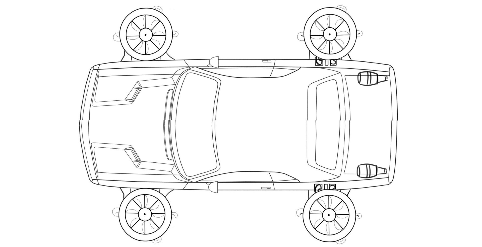 Aiden Mockridge Ba Game Art Year 1 Future Car Design