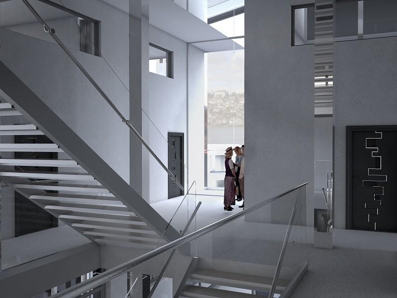 Interior view - typical floor plan