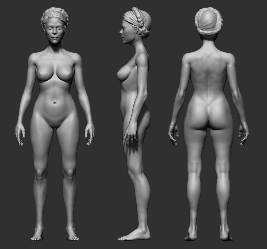 Female Anatomy Practic Nikolay Chugunov Yuvutu 1
