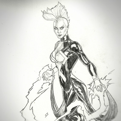 Martin jario storm marvel martinjario pencil