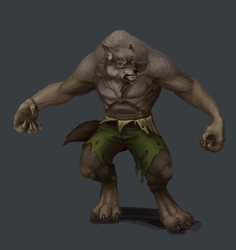 Greeme doe 010 werwolf