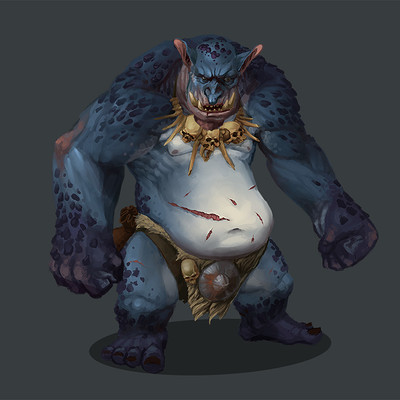 Greeme doe 011 mountan troll
