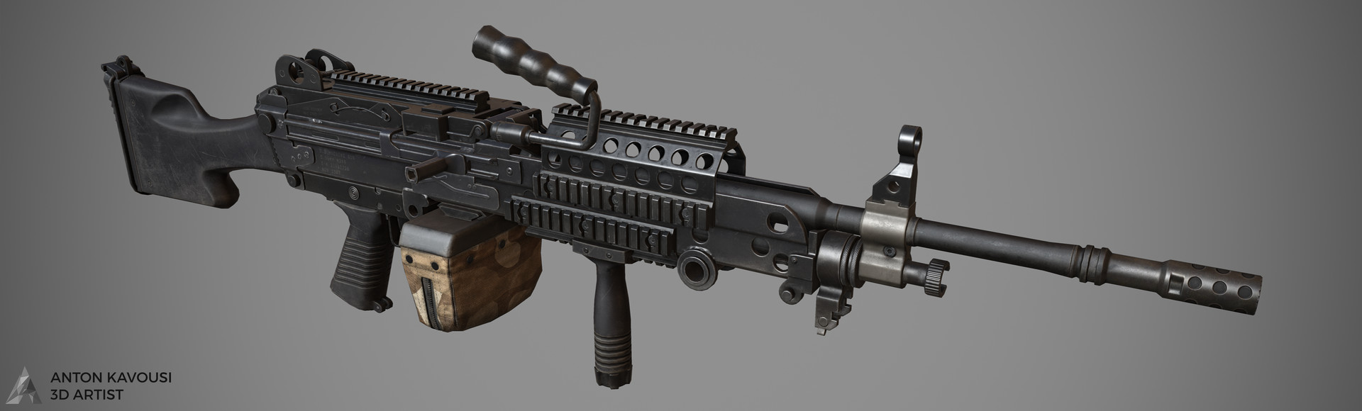 Anton Kavousi M249 Saw