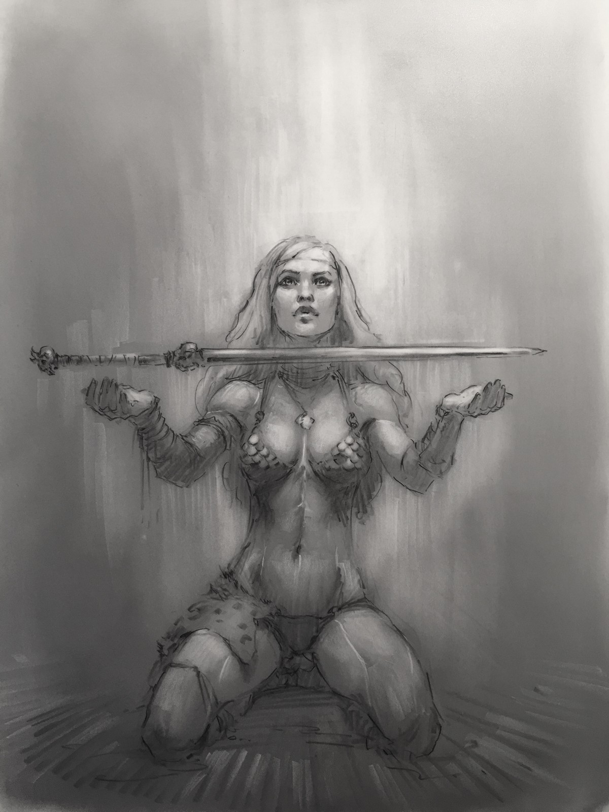 Red Sonja Warmups #1