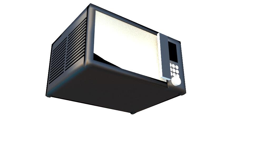 Harsh Arjeria - Microwave Oven - 3D Model
