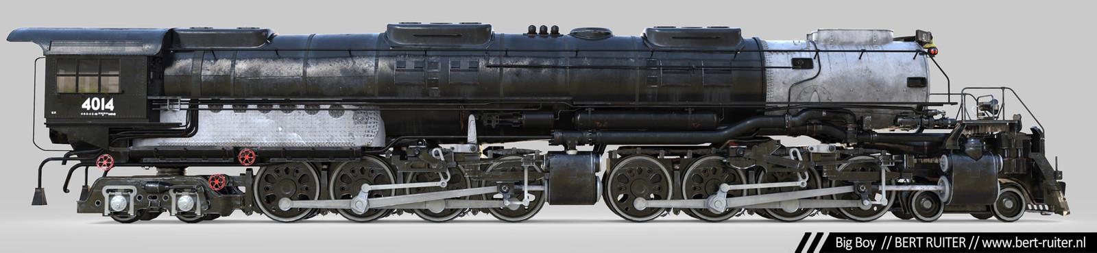 Union Pacific Big Boy Textured