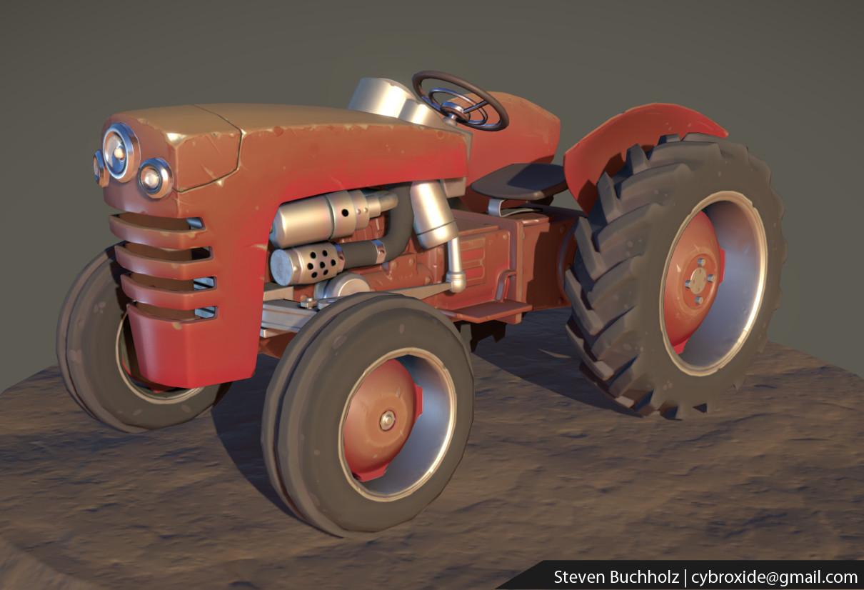 Steve buchholz z tractorred 01