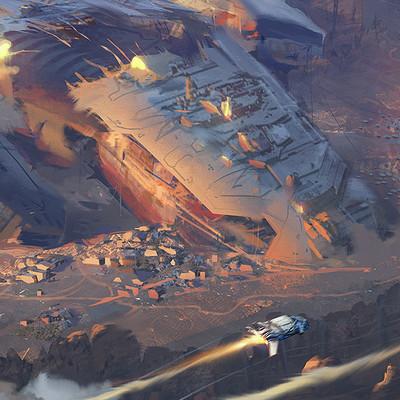 Vitali timkin vitali timkin sketch spacecraft city