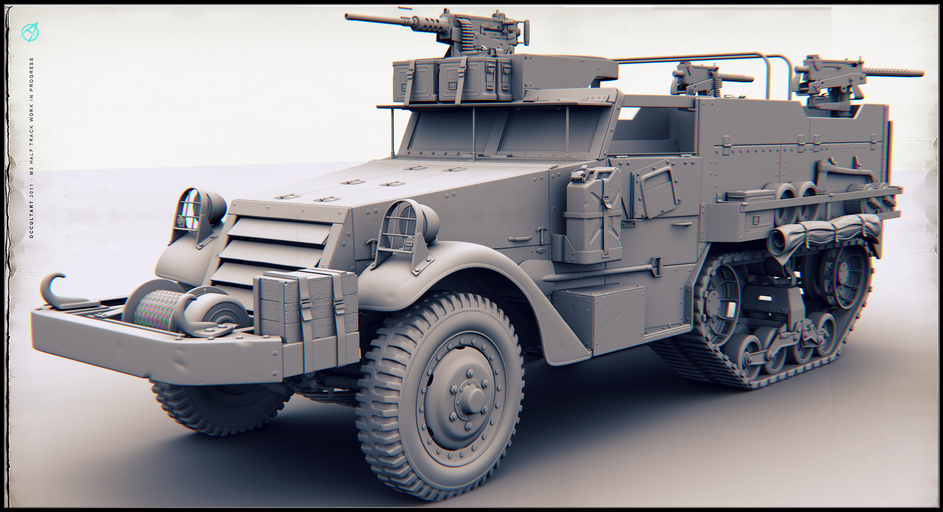 Occultart   m3 halftrack 06