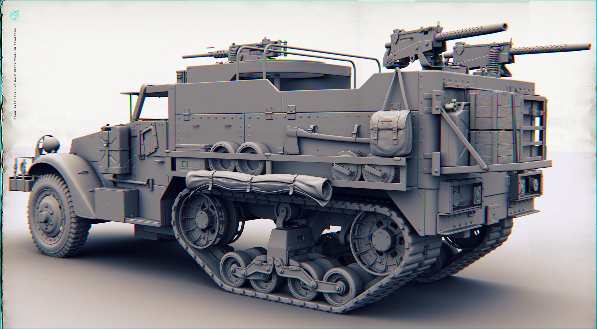 Occultart   m3 halftrack 09