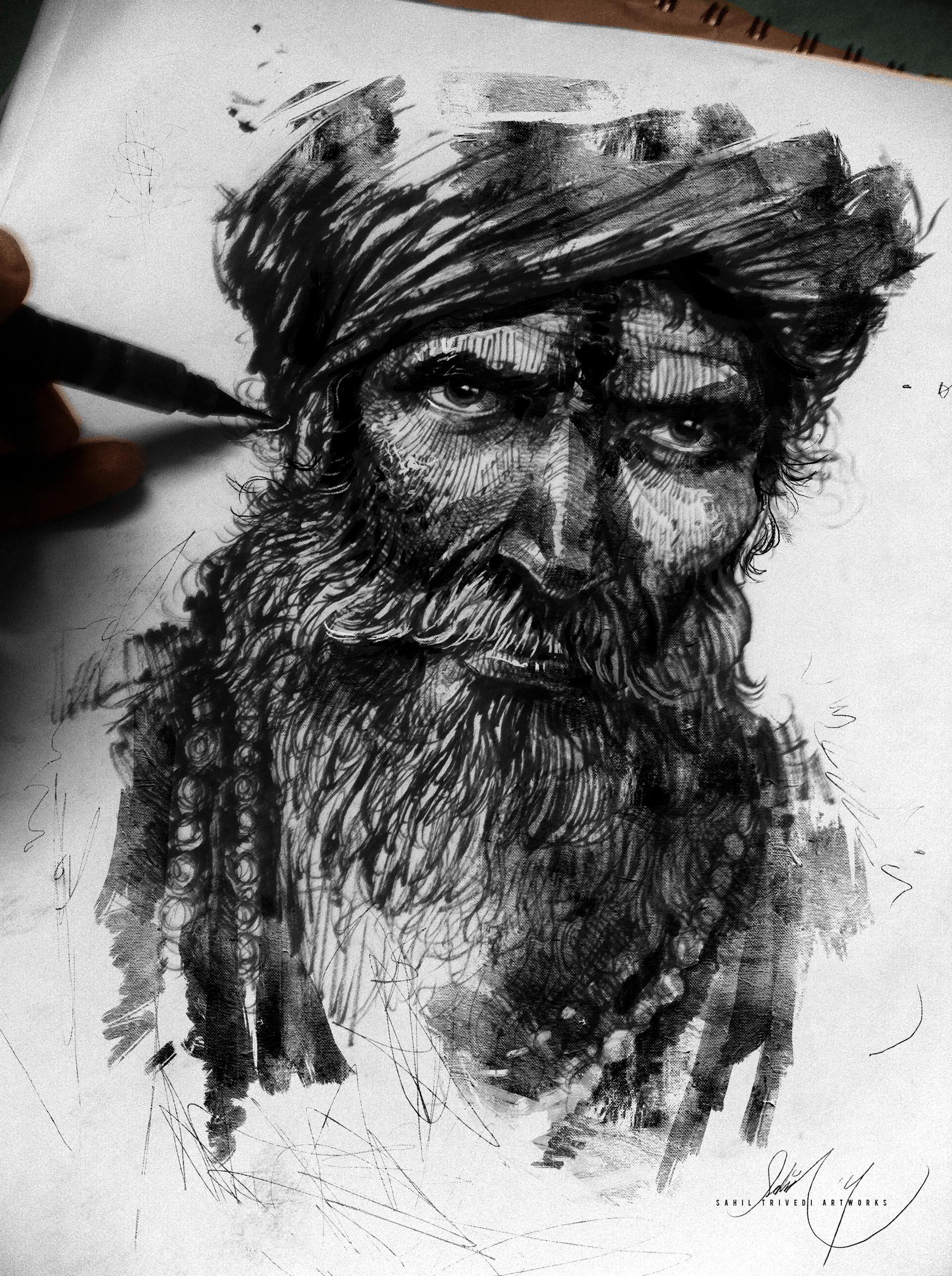 Sahil trivedi sadhu paintover