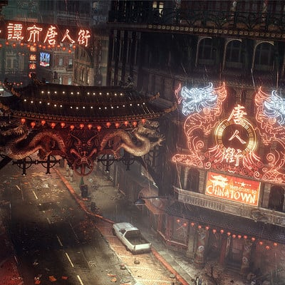 eff6ab71118a4 Batman Arkham Knight Chinatown