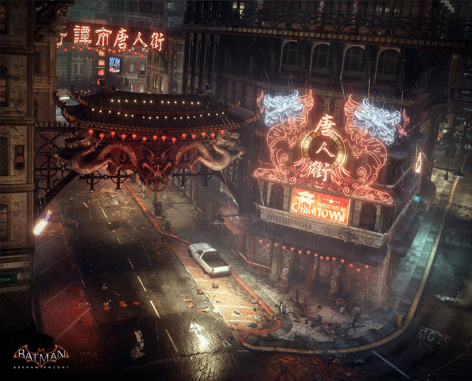 Batman Arkham Knight Chinatown