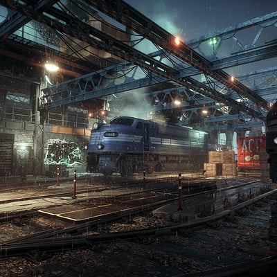 63440e7eba619 Batman Arkham Knight Trainyard