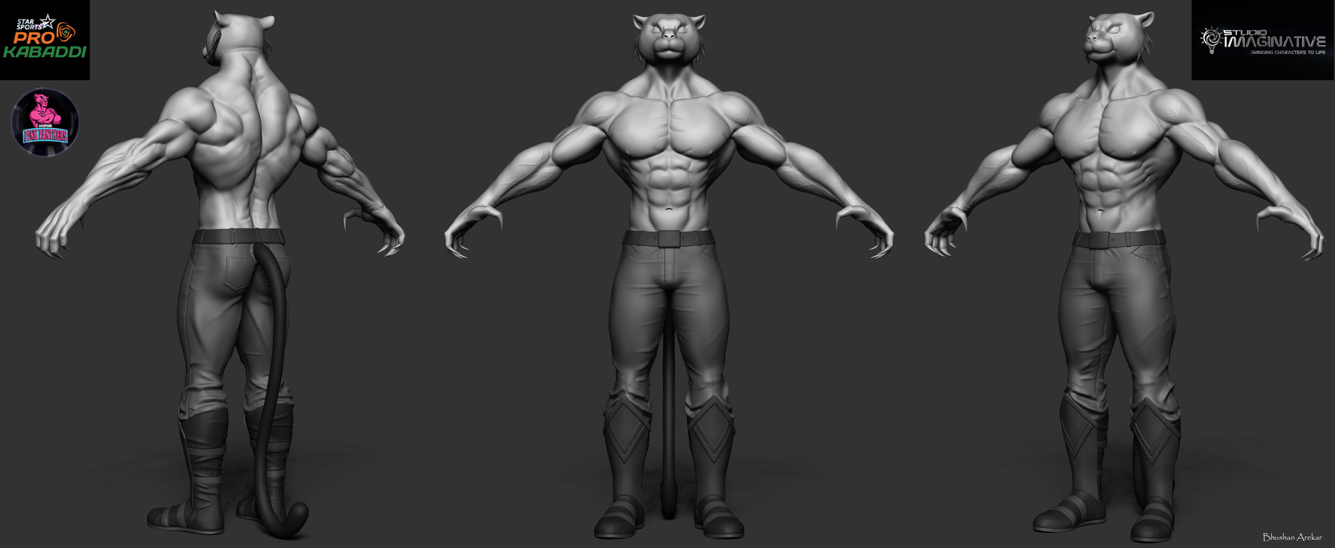 Base model provided,responsible for sculpting,UV/Bake