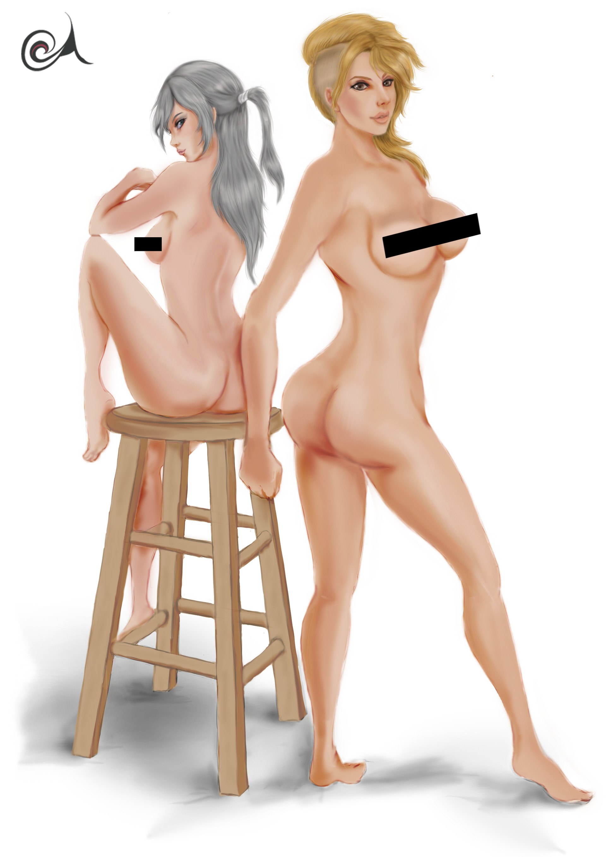 Censored nude pics