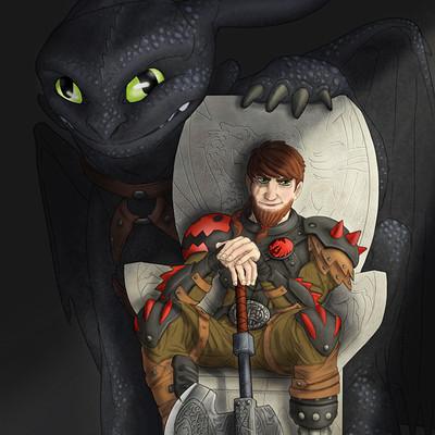 Saimon toncelli dragon trainer 4 by artbysai d8cm78z