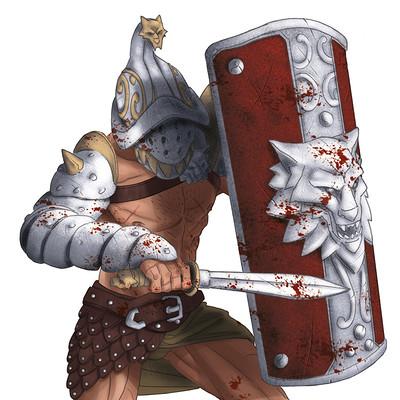 Saimon toncelli gladiatore