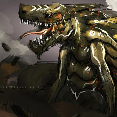Benedick bana dragon king