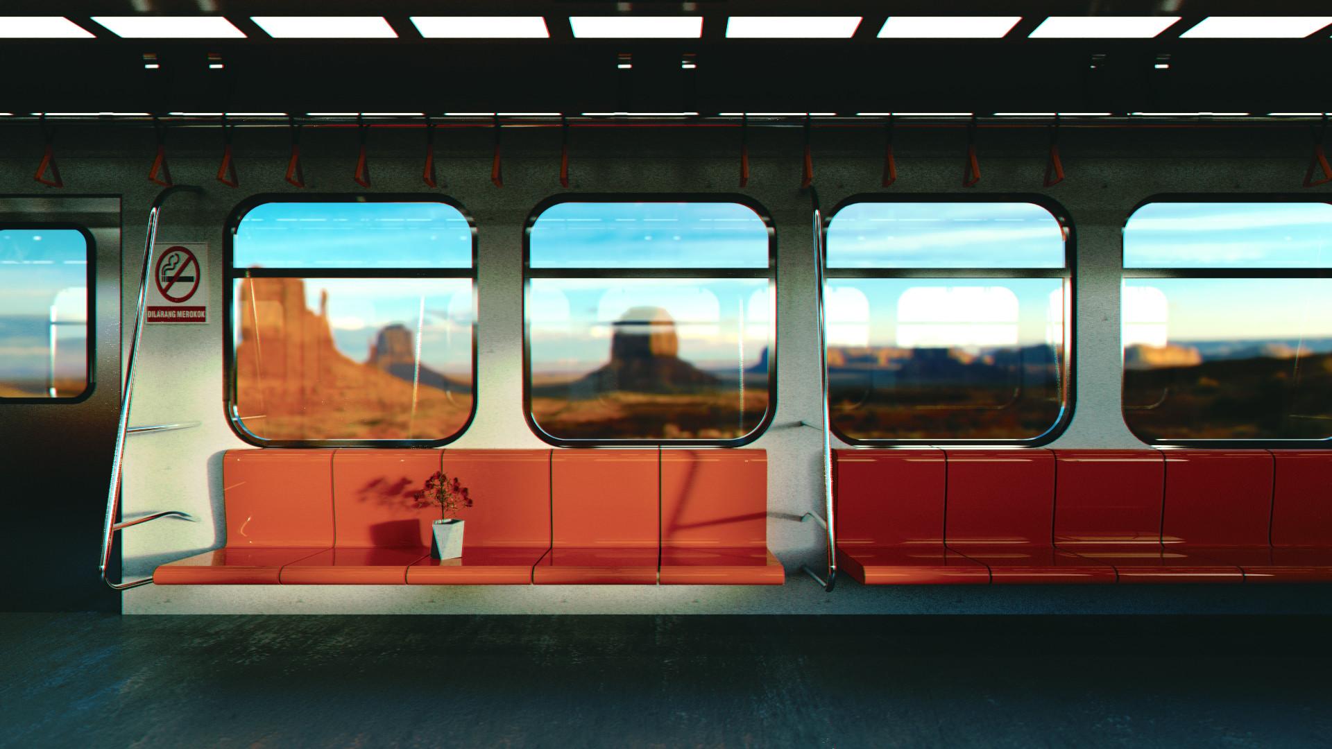 Syaf fiq train post