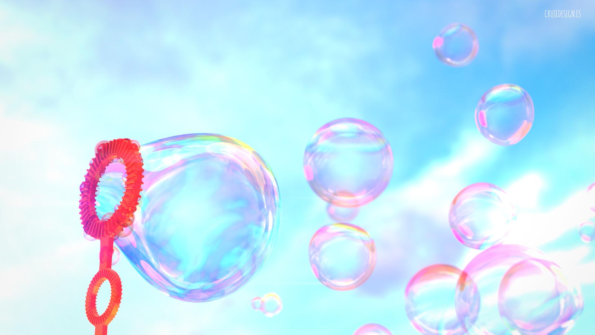artstation bubbles colors pompas de colores nacho cruje