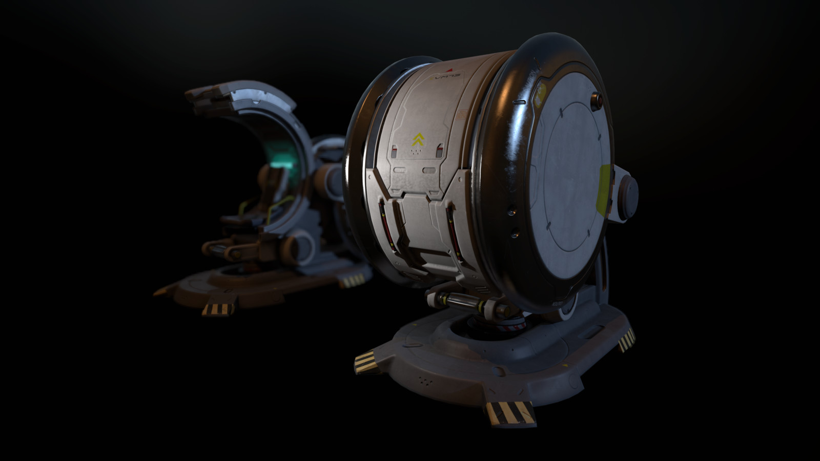Star Citizen Sim Pod