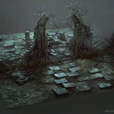 Ste flack ruins