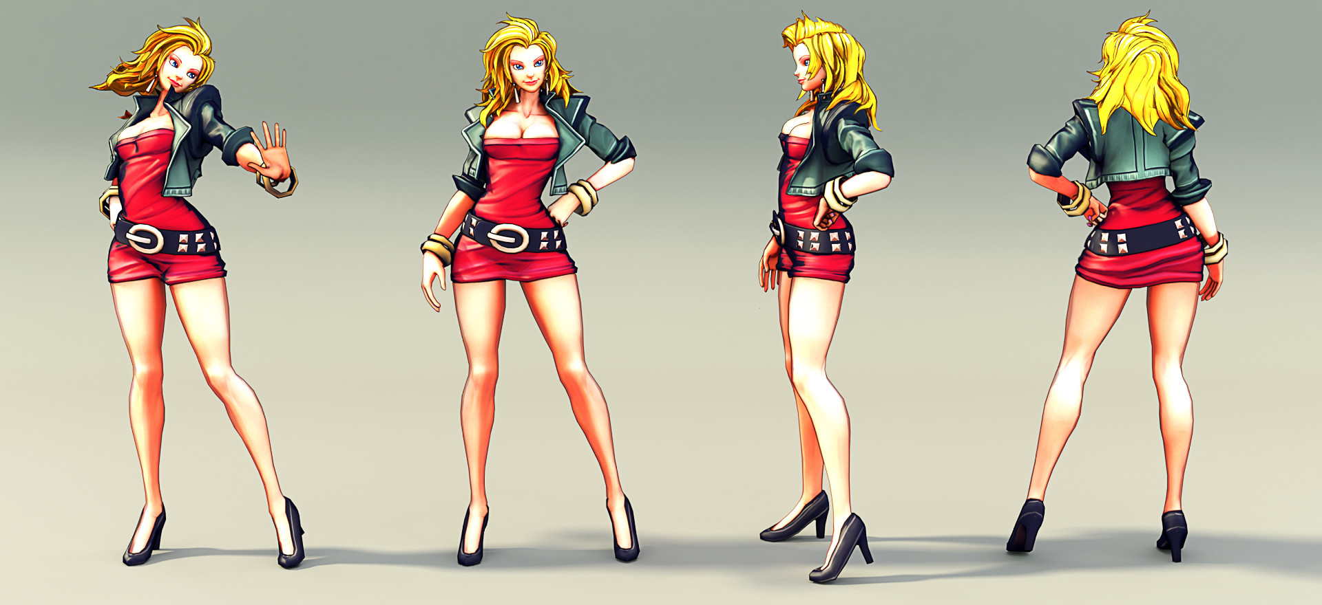 Jarred Everson Marian from Double Dragon Neon