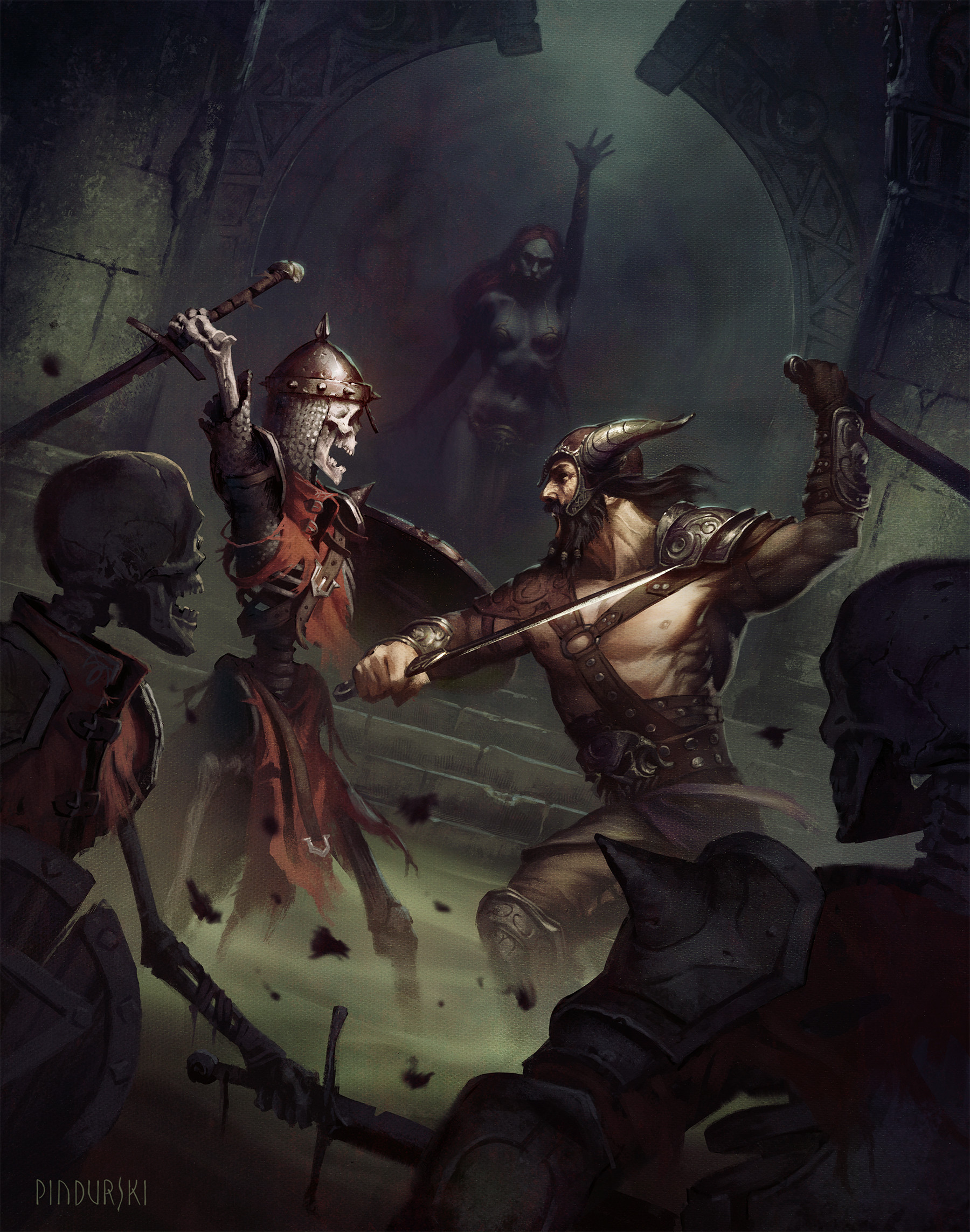 A little dungeon scuffle