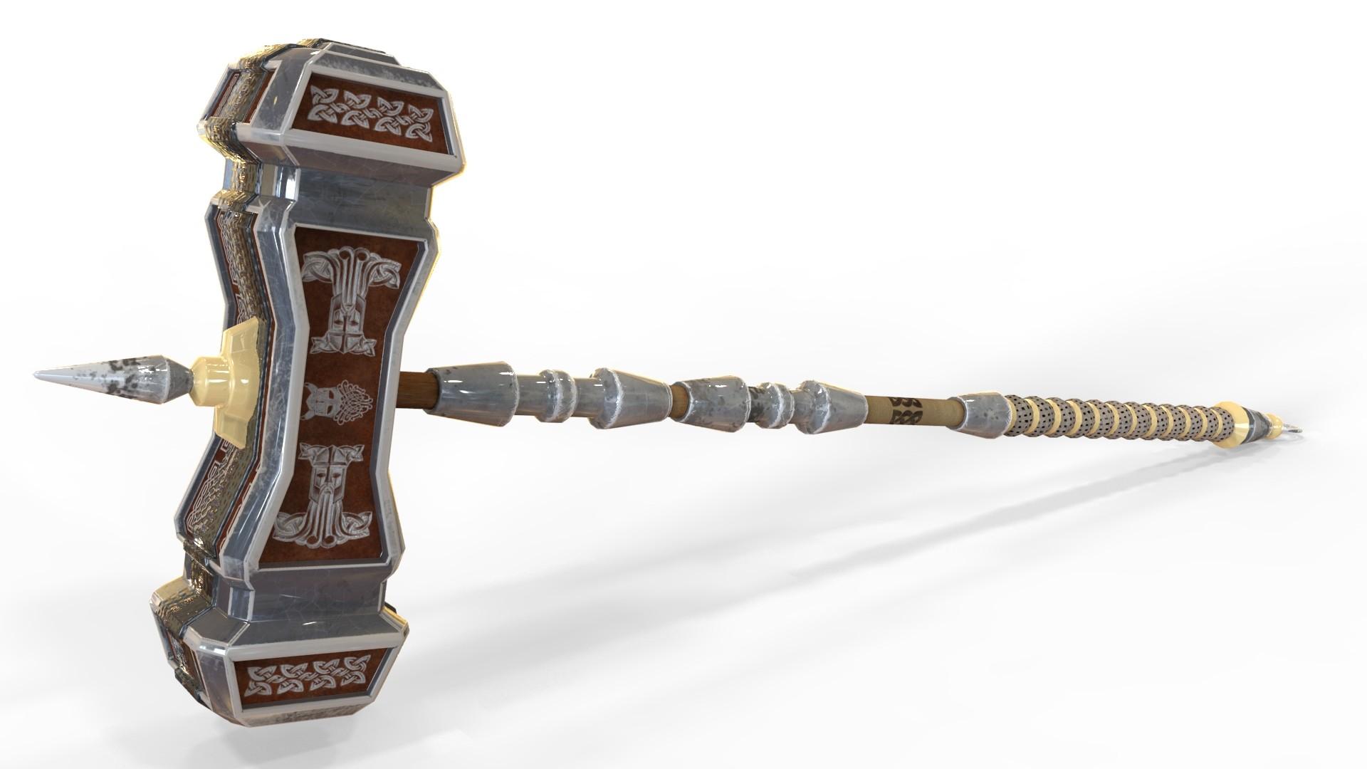 artstation dwarven warhammer christian moravec