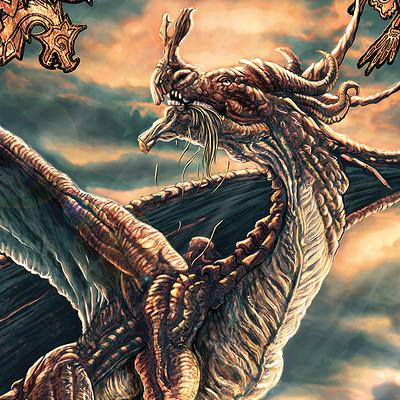 Walter brocca drago di bronzopiccolo