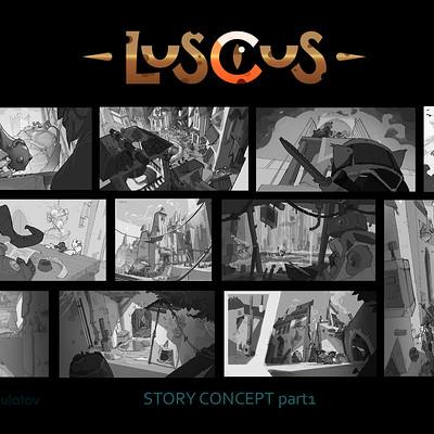 Nikita bulatov story concept part 01