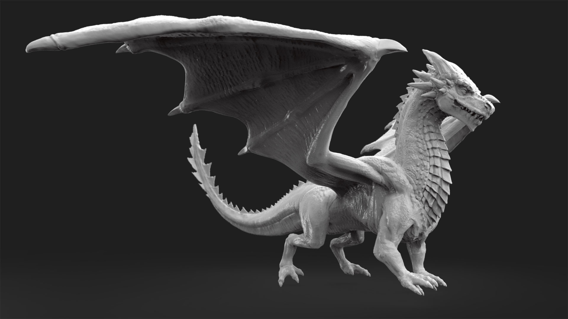 Dave jones dragon render 1