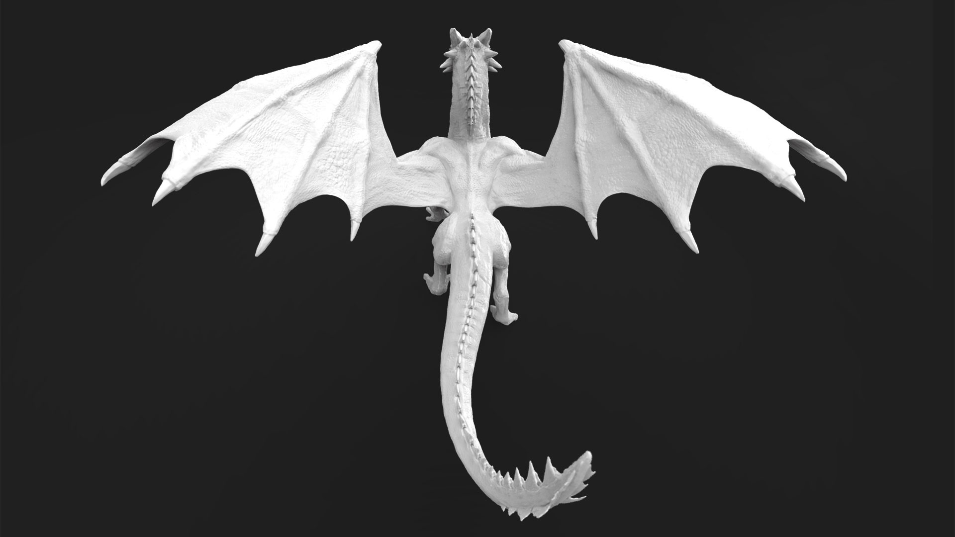 Dave jones dragon render 2