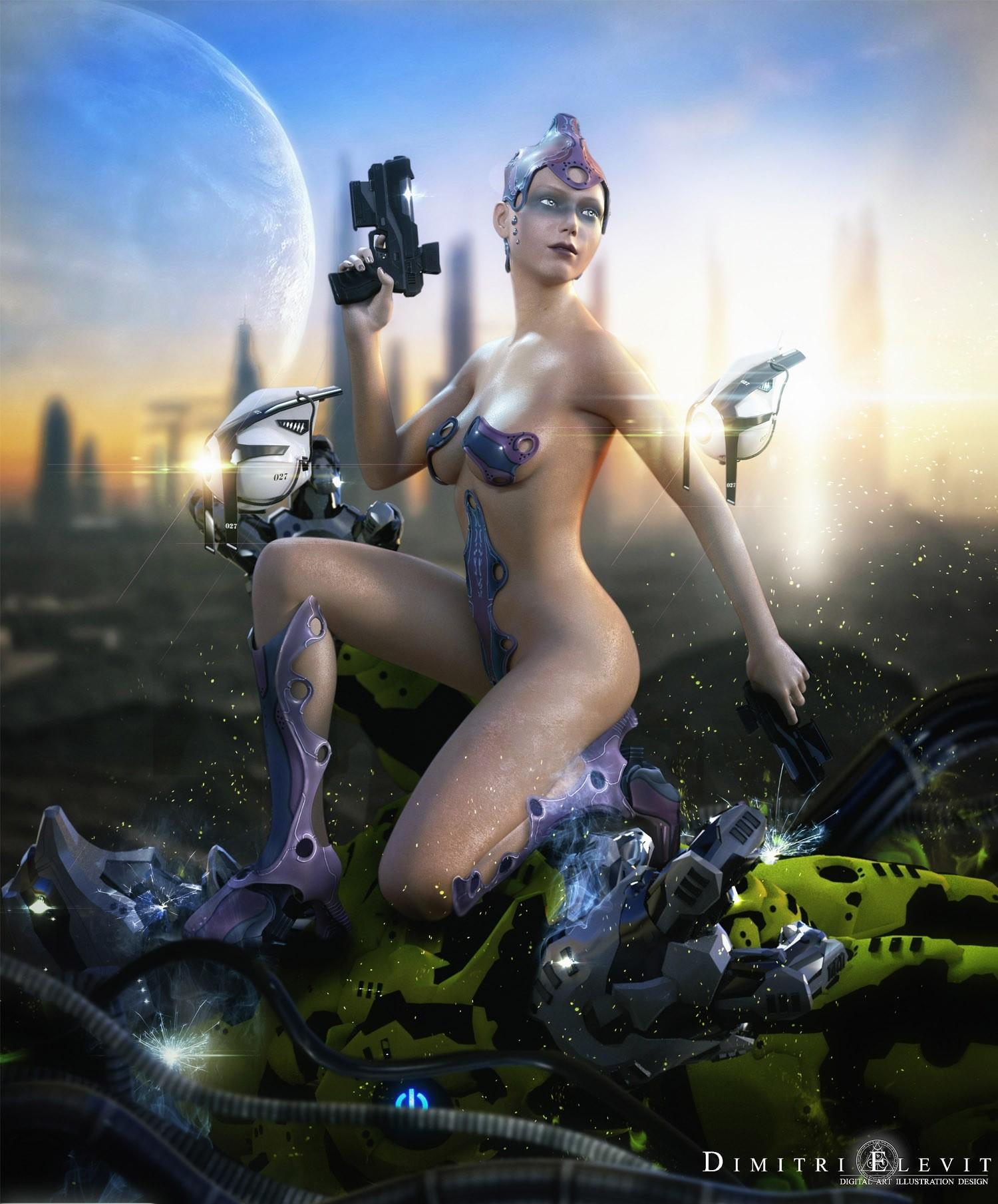 Alien porn galactic girls